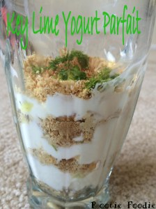 Key Lime Yogurt Parfait