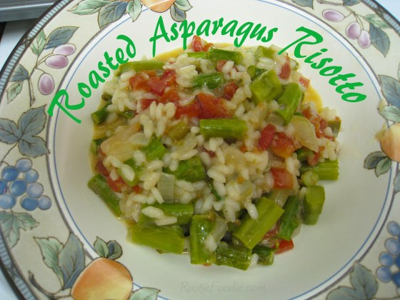 roasted asparagus risotto